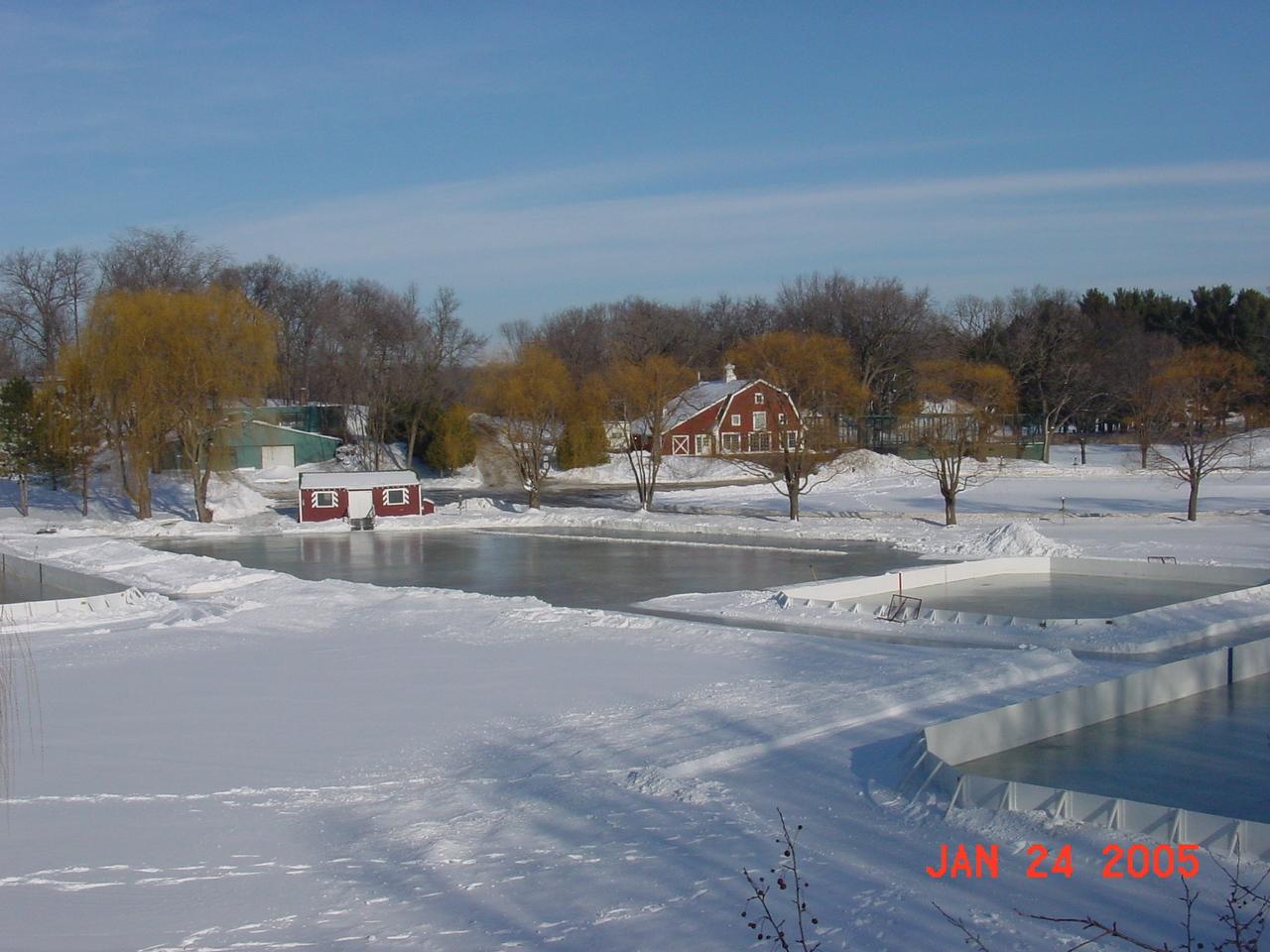 minnesota winter u003d backyard rinks u2013 out of bounds